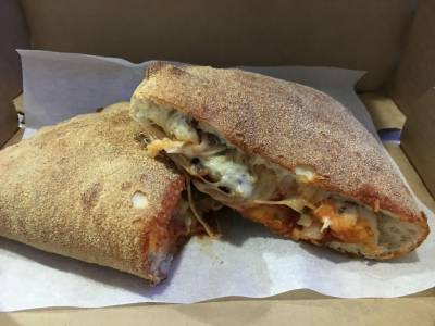 The Domino's Mexican Calzone is Super Spicy