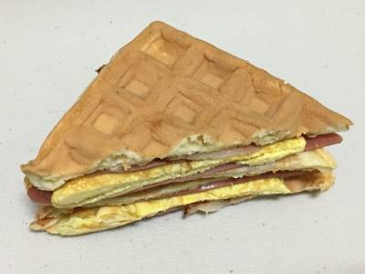 Waffles instead of Bread, Can you call it a Sandwich?